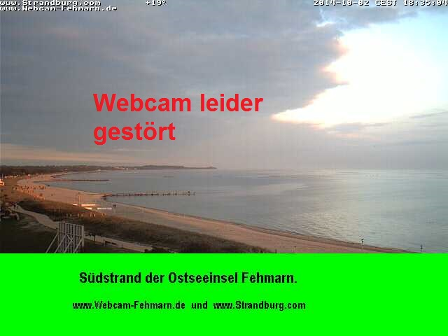 Webcam-Fehmarn S�dstrand